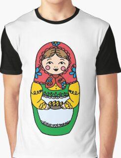 Colorful Russian dolls - matryoshka Graphic T-Shirt