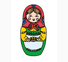 Colorful Russian dolls - matryoshka Unisex T-Shirt