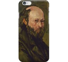 Paul Cezanne - Self-Portrait 1878-1880 iPhone Case/Skin