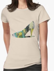 High heels Womens Fitted T-Shirt