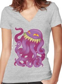 Ultros! Women's Fitted V-Neck T-Shirt