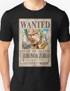 zorro wanted logo T-Shirt