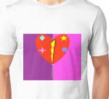heart crest  Unisex T-Shirt
