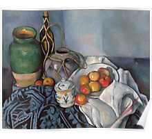 Paul Cezanne - Still Life with Apples 1893 - 1894 Poster