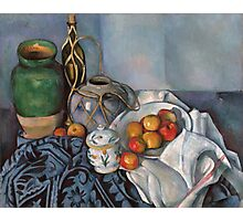 Paul Cezanne - Still Life with Apples 1893 - 1894 Photographic Print