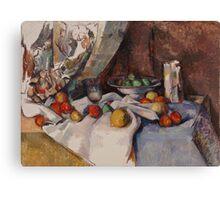 Paul Cezanne - Still Life with Apples 1895 - 1898 Canvas Print