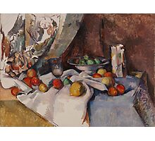 Paul Cezanne - Still Life with Apples 1895 - 1898 Photographic Print