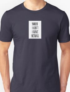 sorry i can't i have netball - sport quote Unisex T-Shirt