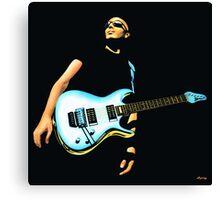 Joe Satriani Painting Canvas Print