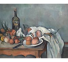 Paul Cezanne - Still Life with Onions 1896 - 1898 Photographic Print