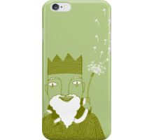 Little King Leprechaun on a Turtle iPhone Case/Skin