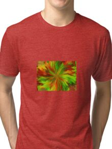 Abstract Colours Tri-blend T-Shirt