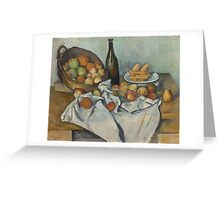 Paul Cezanne - The Basket of Apples  1893 Greeting Card