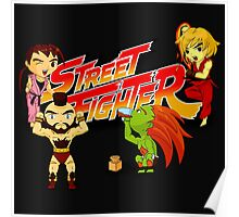 STREET FIGHTER TOON Poster