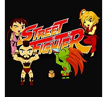 STREET FIGHTER TOON Photographic Print