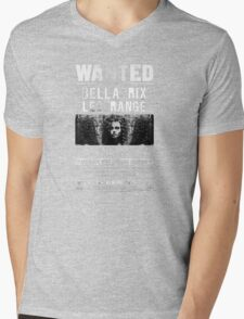 wanted bellatrix lestrange Mens V-Neck T-Shirt