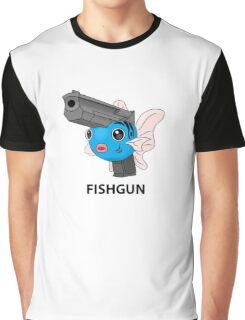 Pokemon Fishgun Graphic T-Shirt