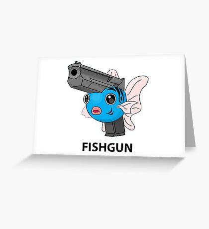 Pokemon Fishgun Greeting Card