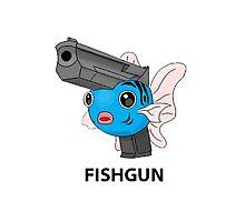 Pokemon Fishgun Photographic Print