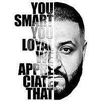 DJ Khaled : YOU SMART Photographic Print