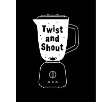 Twist and shout Photographic Print