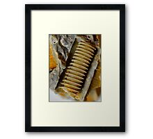guess what! Framed Print