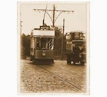 """Tram"" Old Photo Effect  Classic T-Shirt"