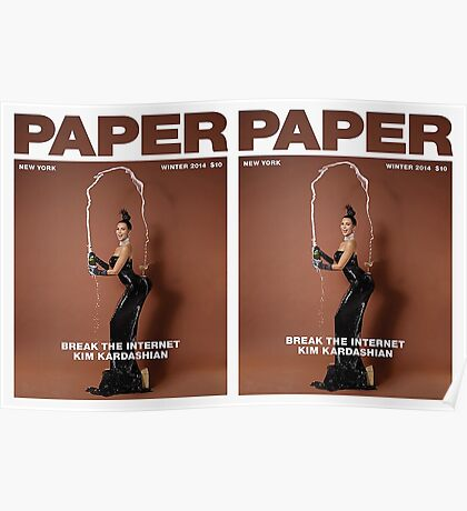 KIM for paper magazine Double Sided Poster