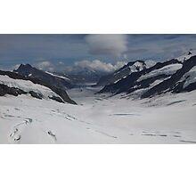 Jungfrau Mountain Top Of Europe Photographic Print