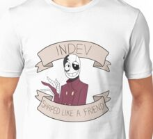 Shaped like a Friend Unisex T-Shirt
