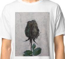 Black Rosebud Classic T-Shirt