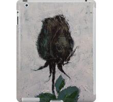Black Rosebud iPad Case/Skin