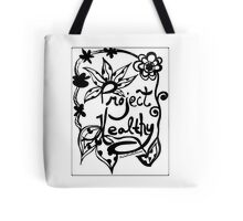 Rachel Doodle Art - Project Healthy Tote Bag