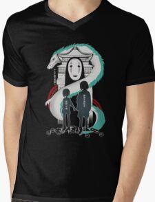 Spirited Mens V-Neck T-Shirt