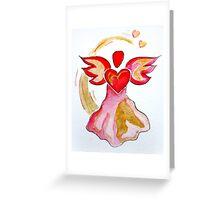 Love Angel Greeting Card