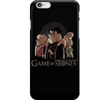 game of stone flintstone iPhone Case/Skin