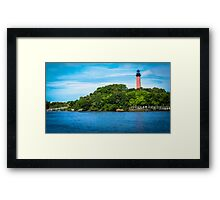 I love Jupiter Florida Framed Print