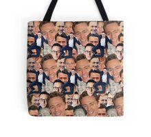 Tom Hiddleston Faces Tote Bag