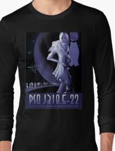 PSO J318.5-22 Nasa Space Travel Poster Long Sleeve T-Shirt