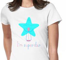 Superstar Womens Fitted T-Shirt