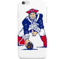 New England Patriot Old iPhone Case/Skin