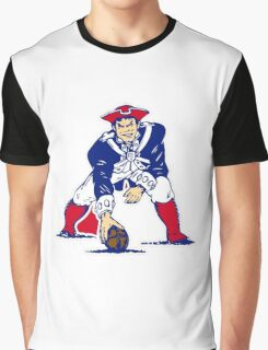 New England Patriot Old Graphic T-Shirt