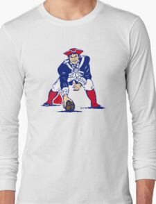 New England Patriot Old Long Sleeve T-Shirt