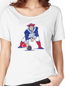 New England Patriot Old Women's Relaxed Fit T-Shirt