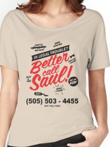 Better Call Saul: Logo T-shirt Women's Relaxed Fit T-Shirt