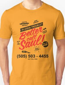 Better Call Saul: Logo T-shirt T-Shirt