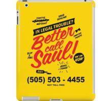 Better Call Saul: Logo T-shirt iPad Case/Skin