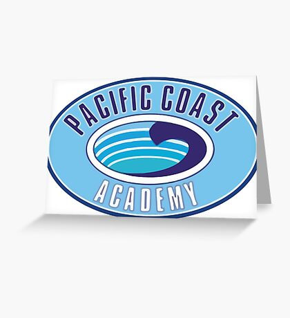 PCA Pacific Coast Academy Zoey 101 Greeting Card