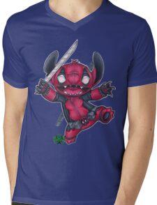 StitchPool  Mens V-Neck T-Shirt