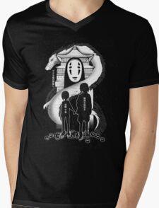 Spirited Noir  Mens V-Neck T-Shirt